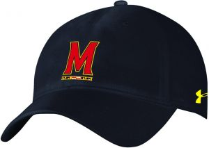 541ebdb5 Under Armour NCAA Maryland Terrapins Adult Women NCAA Women's airvent  Adjustable Cap, One Size, Black