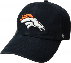 purchase cheap 52910 cf3fd  47 NFL Denver Broncos Clean Up Adjustable Hat, Navy, One Size Fits All  Fits All