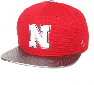 44c6e99eb0584c Zephyr NCAA Nebraska Cornhuskers Men's Composite Snapback Cap, Adjustable  Size, Red