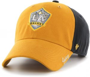 d9be5782c447b MLS Los Angeles Galaxy Women s  47 Sparkle Sequin Two-Tone Clean Up Adjustable  Hat