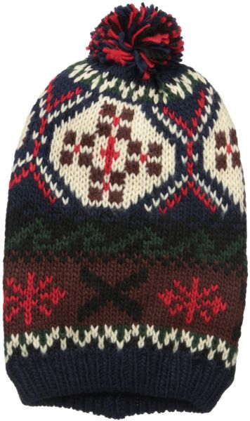 MUK LUKS Women s Lodge Slouch Beanie-Traditional Marled 5ed9c0a9a3