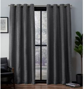 Textured Slub Woven Blackout Window