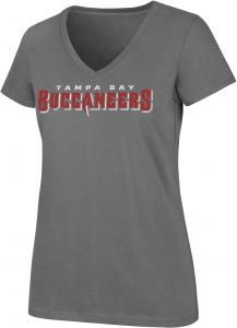 OTS NFL Tampa Bay Buccaneers Women s Rival V-Neck CB Distressed Tee baac06f1a