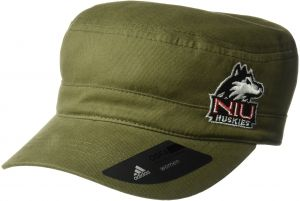 e48d4fdd9ff9e adidas NCAA Northern Illinois Huskies Army Green Military Hat