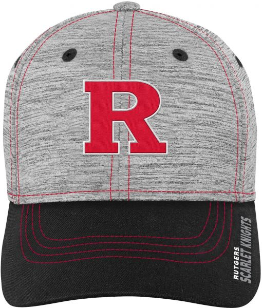 Gen 2 NCAA Rutgers Scarlet Knights Youth Boys Velocity Structured Flex Hat f3d484a9f2f