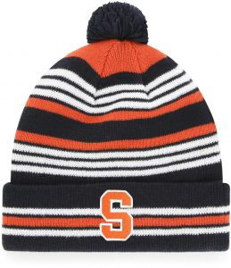 OTS NCAA Syracuse Orange Rickshaw Cuff Knit Cap with Pom dd34e39888e6