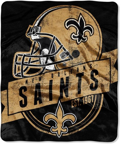 Blanket Made with New Orleans Saints Fleece Made to Order New Orleans
