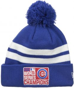 New Era MLB Chicago Cubs 2016 World Series Champions 2TN Beanie ce3a39bd08fa