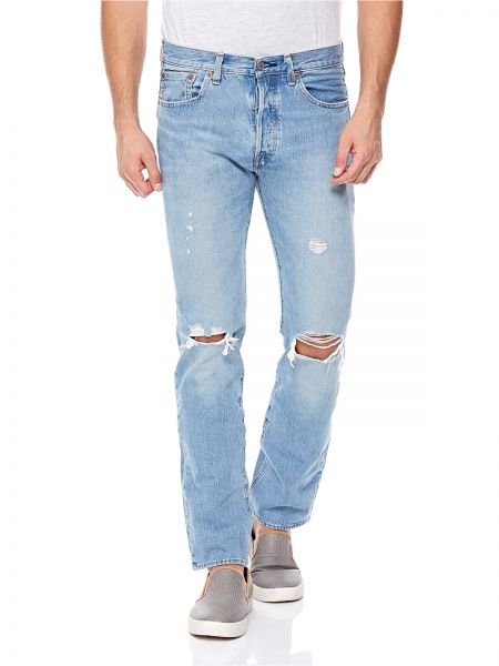 For Light Jeans Ripped Levi's Blue Men 2EHID9