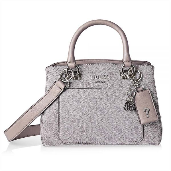 3ae963c03396 Guess Kathryn Girlfriend Satchels Bag for Women - Faux Leather