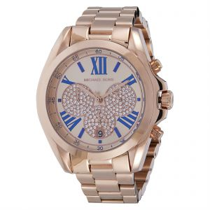 9f48b00d8f5a Michael Kors Women s Rose Gold Dial Stainless Steel Band Watch - MK6321
