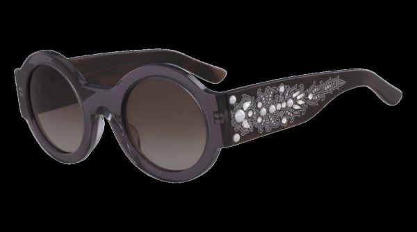 2961dc3538da Etro Round Sunglasses for Unisex, Dark Brown - ET663SR4826 028 | KSA ...