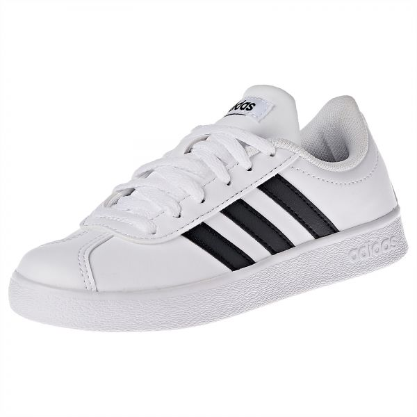 044cb3b52e02 adidas Vl Court 2.0 K Sneaker For Kids. by adidas