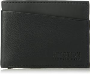 ba66bece67cf1 Kenneth Cole REACTION Men s Rfid Blocking Slimfold Wallet With Multitool  Gift Set