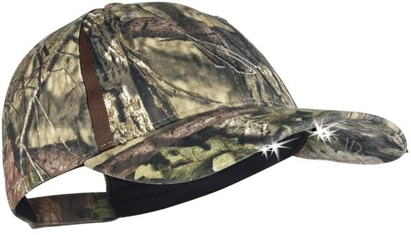 57ecb19c834be Panther Vision POWERCAP CAMO LED Hat 25 10 Ultra-Bright Hands Free Lighted  Battery Powered Headlamp - Mossy Oak Country Structured (CUB4-6410)