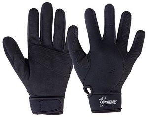Hook//Loop Closure Black Synthetic Leather 2X-Large 1-Pair Lime Spandex Back MCR Safety 935HVLXXL Multi-Task Gloves