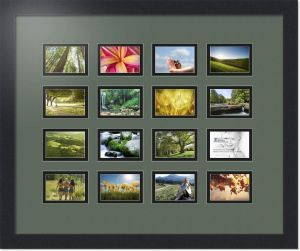 Arttoframes Collage Photo Frame Double Mat With 16 Openings And
