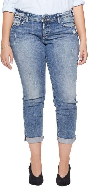 804ad76b Women's Plus Size Sam Mid Rise Boyfriend Jeans, Medium Vintage New, 20x27.  by Silver Jeans Co., Pants - Be the first to rate this product