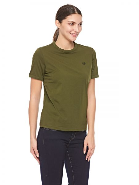0b8a12be5 Fred Perry Ringer T-Shirt for Women - Thorn