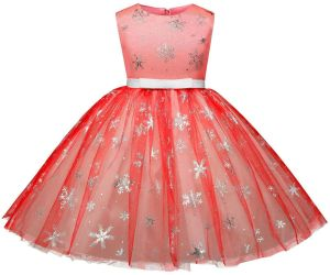 c791db58ef393 Girls Christmas Flower Dress Kids Dresses for Girl Princess Autumn Winter  Party Ball Gown Children Clothing Wear Tutu Dress Pastel Princess Girls  Birthday ...