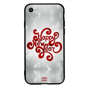 apple iphone 6s case cover happy new year red grey background