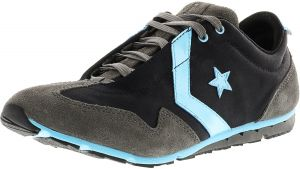 249807579219a2 Converse Women s Revival Ox Black   Blue Ankle-High Fabric Running Shoe - 8M