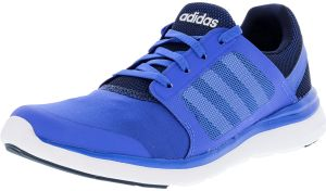 cffd5815ca45 Adidas Women s Cloudfoam Xpression Blue   Collegiate Navy Footwear White  Ankle-High Running Shoe - 7.5M