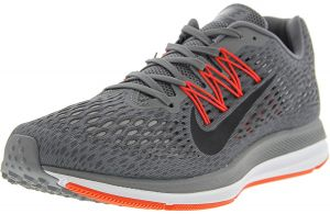 sports shoes 598e4 d724b Nike Men s Zoom Winflo 5 Gunsmoke   Oil Grey - Thunder ankle-High Mesh Running  Shoe 8.5M