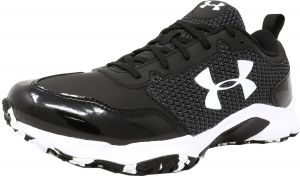 f72e5ee6cc3 Under Armour Men s Ultimate Turf Trainer Black   Ankle-High Training Shoes  - 8M