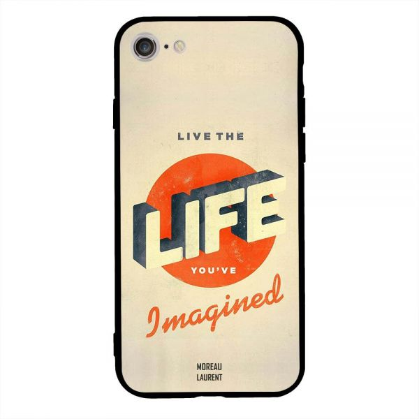 af817613078 Apple Apple Iphone 7 Case Cover Live The Life You Have Imagine ...