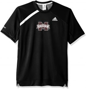 781cd8d9933 adidas NCAA Mississippi State Bulldogs Mens On Court S Shooting Shirton  Court S Shooting Shirt