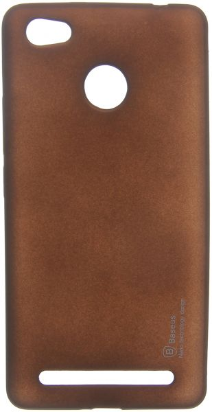Baseus Back Cover for Tecno W5, Brown