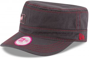 new product 152b6 eb090 MLB Washington Nationals Women s Major Chic Adjustable Military Cap, One  Size, Graphite