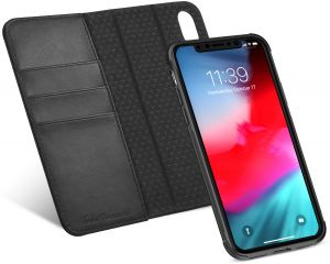 iPhone Xs Max Case, iPhone Xs Max Detachable Case, TUCCH Credit Card Slots and Magnetic Closure Leather Flip Book Wallet Case compatible with iPhone Xs Max ...