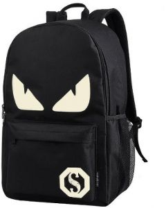 Backpack Anime Luminous Teenagers Men Women's Student Cartoon School Bags  Casual Travel Bag Glow in the Dark Style 2