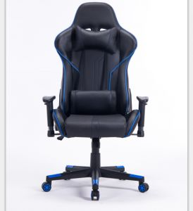 Computer Desk High Back Pu Leather Racing Style Office And Chair With Adjule Hight Headrest Lumbar