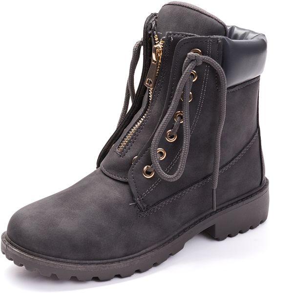 f2879644f7e6 Autumn and winter women's boots two wearing ankle boots casual flat tooling women's  boots | KSA | Souq