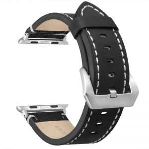 ebe8e48d367 Leather Bands Compatible Apple Watch Band Replacement Wristband Sport Strap  Iwatch Nike+