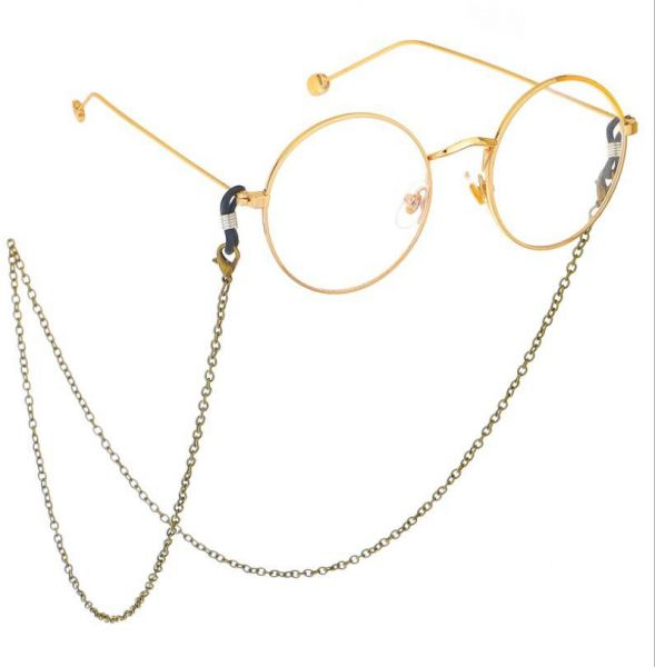 4332a9e9d5 Practical Eyeglass Strap 70cm Reading Glasses Spectacles Sunglasses Eyewear  Eyeglass Chain Neck Cord Strap Rope