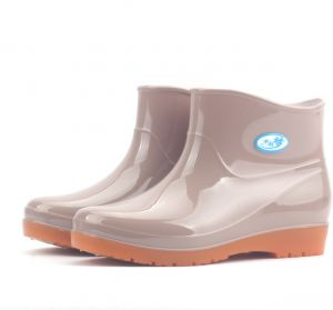 Women s Rain Boots Fashion No-Slip Low Tube Boots Rain Boots Water Shoes  Kitchen Car Wash Water Shoes Work Fishing Rubber Shoes Soft Comfy Work Boots   712c63585554