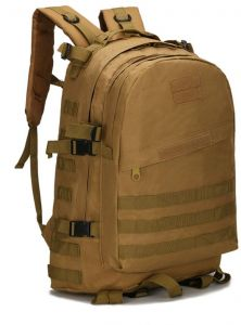 Military Tactical Backpack Large Army 3 Day Assault Pack Molle Bug Out Bag  Backpack Rucksacks for Outdoor Hiking Camping Trekking Hunting-Mud color 0a4cee933cd81