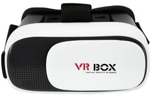 0819a2f45f3d VR BOX Virtual Reality 3D Glasses Headset Compatible with Apple iPhone 7    7 Plus   8   8 Plus   X   XS for 3D Movies and Games