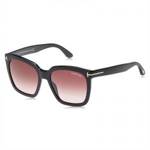 a8aa0a36e7 Tom Ford Amarra Square Sunglasses for Women - Red Lens