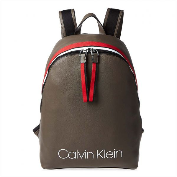 4a6ed667fe0a Calvin Klein Fashion Backpack for Women - Army Ftge
