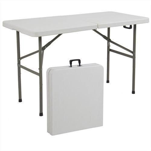 CAMPING PLASTIC FOLDING TABLE
