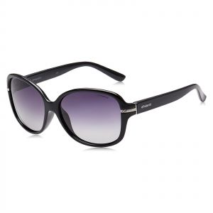 93112064227 Polaroid Oversized Sunglasses for Women - Purple