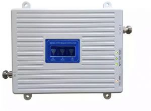 98a1f862d267c6 2G 3G 4G Tri Band Booster GSM 900 DCS/LTE 1800 UMTS WCDMA 2100 MHz Cell  Phone Signal Repeater 900 1800 2100 Cellular Amplifier