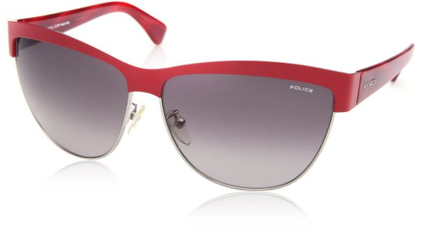 1a2679275734 Police Stainless Steel Sunglasses For Women - Red