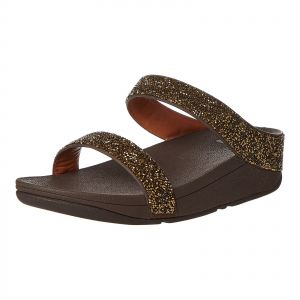 dc3ba3ea770 Fitflop Fino comfort Sandal for Women - Gold