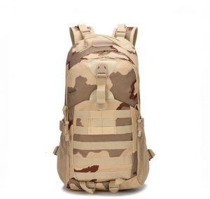 dc25160f2e7b Tactical camouflage two-shoulder hiking adventure outside the door  waterproof casual luggage bag comfortable two-shoulder backpack